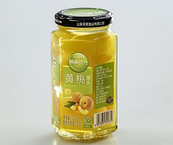 玻璃瓶装黄桃